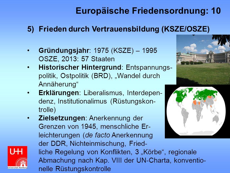 Europäische Friedensordnung: 10