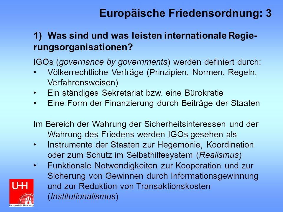 Europäische Friedensordnung: 3