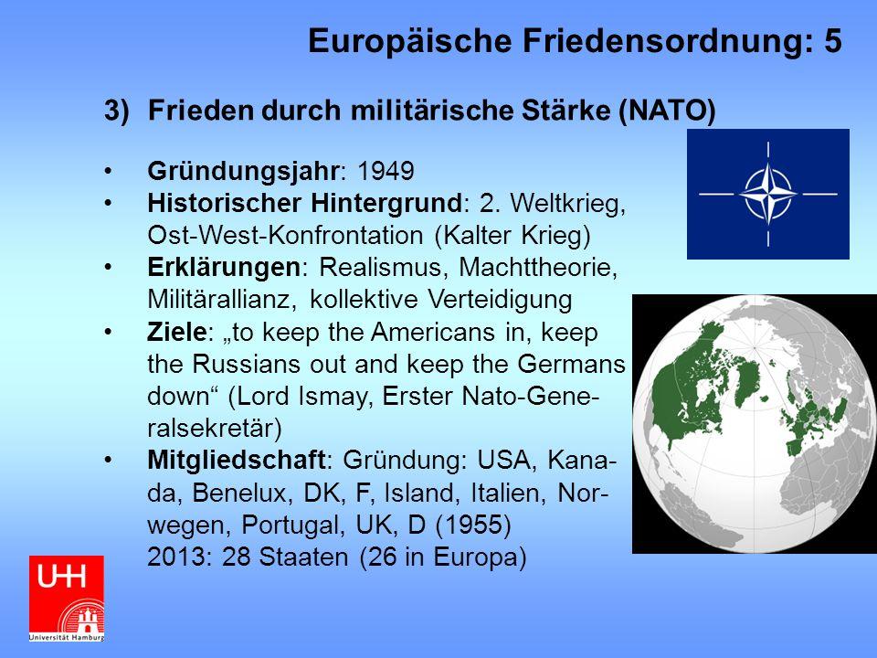 Europäische Friedensordnung: 5