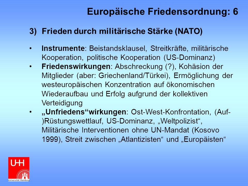 Europäische Friedensordnung: 6