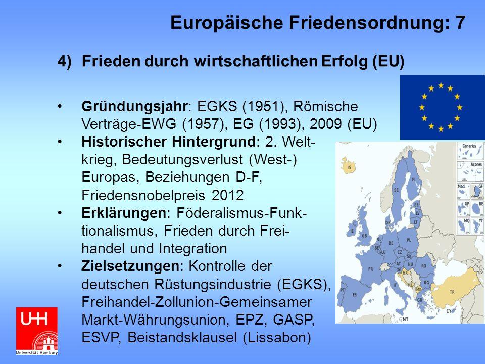 Europäische Friedensordnung: 7