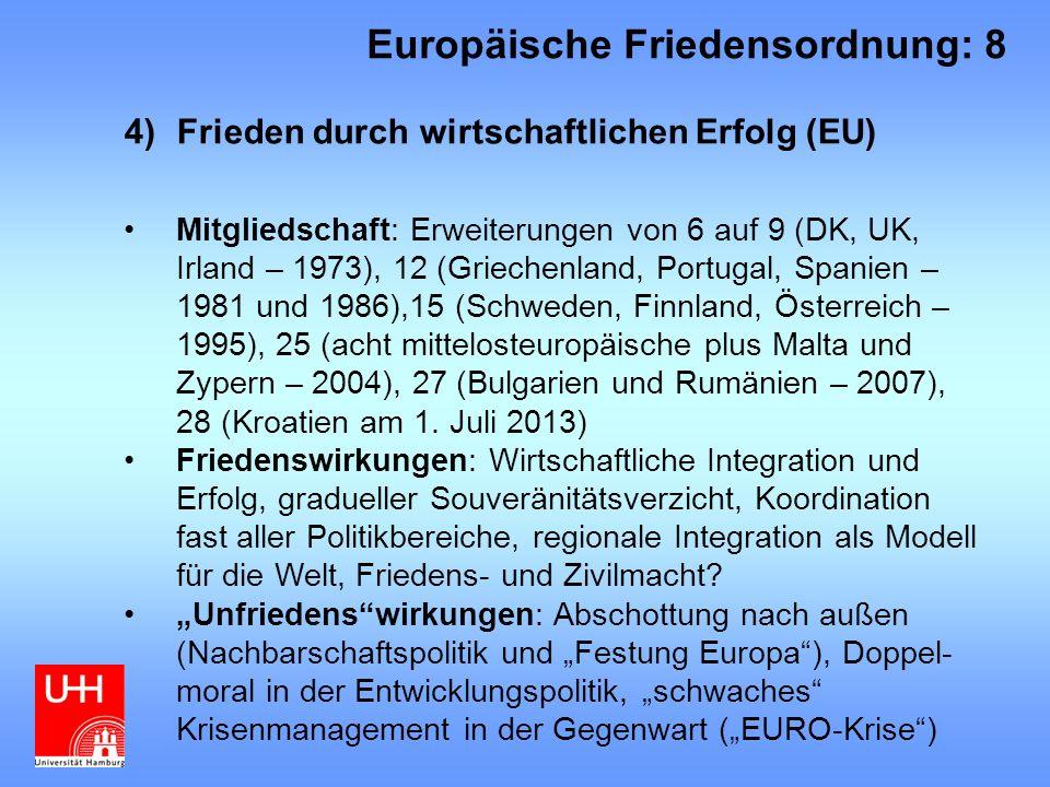 Europäische Friedensordnung: 8