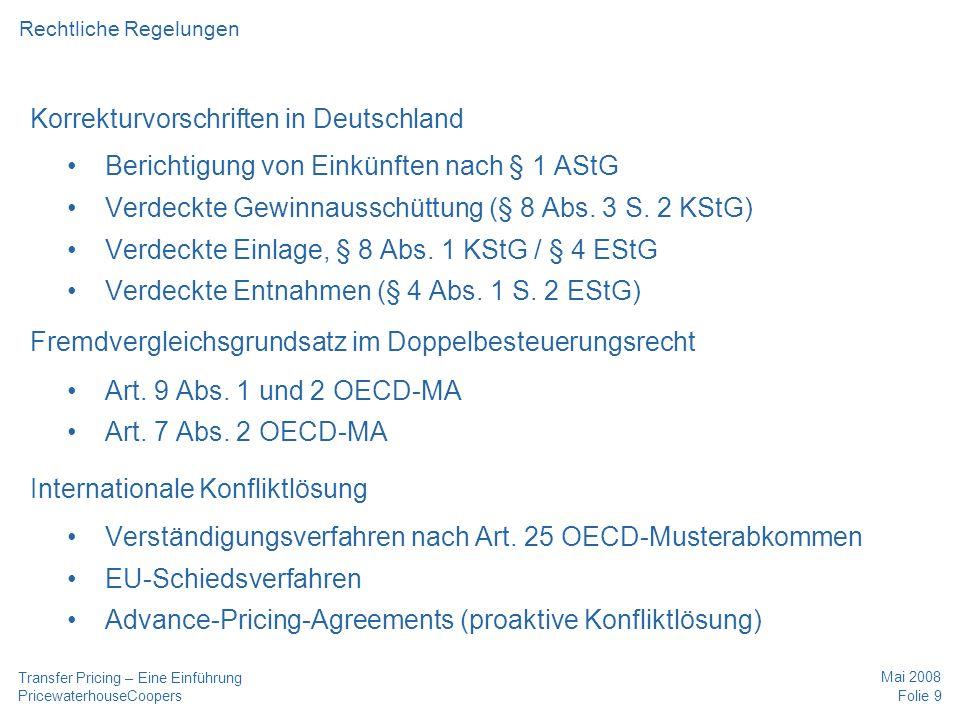 Korrekturvorschriften in Deutschland