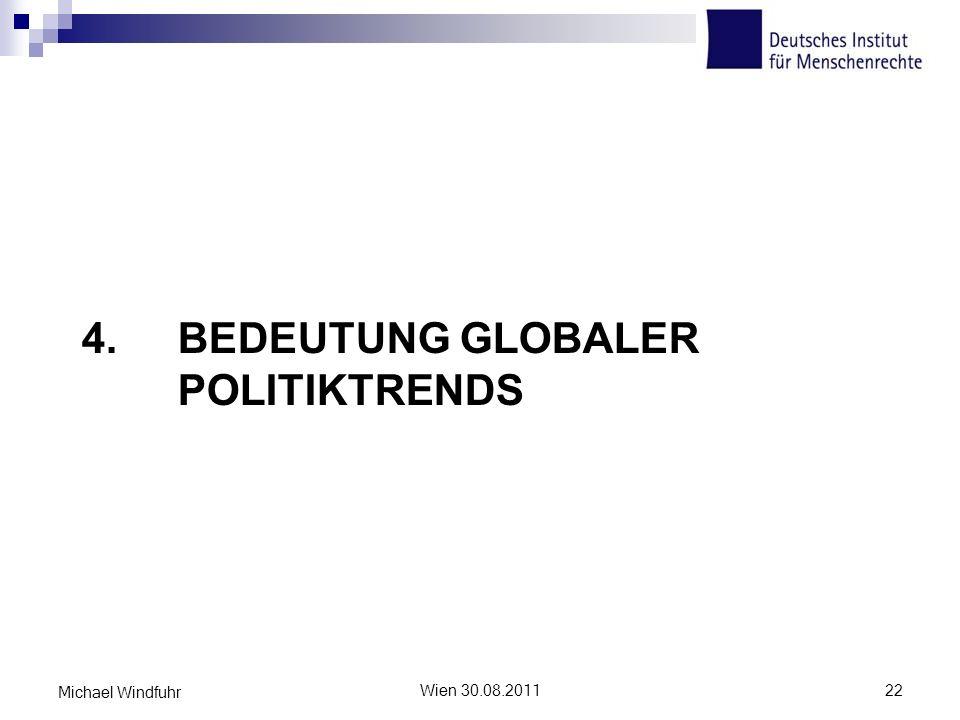 4. Bedeutung globaler Politiktrends
