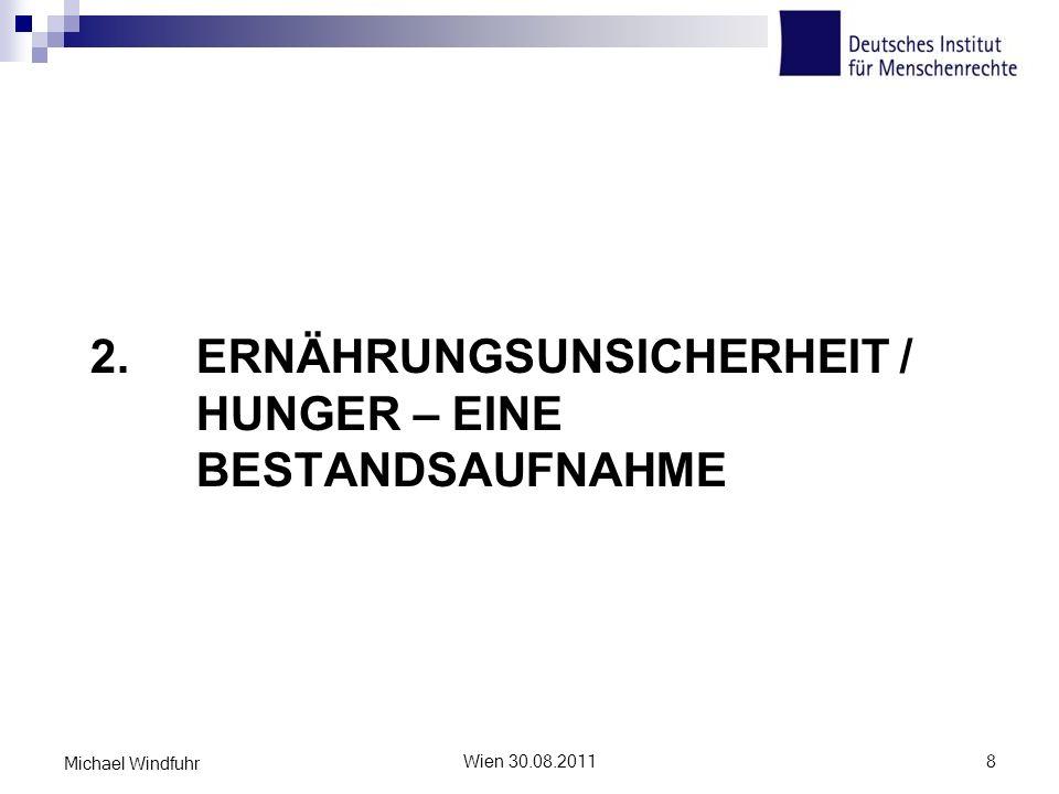 2. Ernährungsunsicherheit / Hunger – eine Bestandsaufnahme