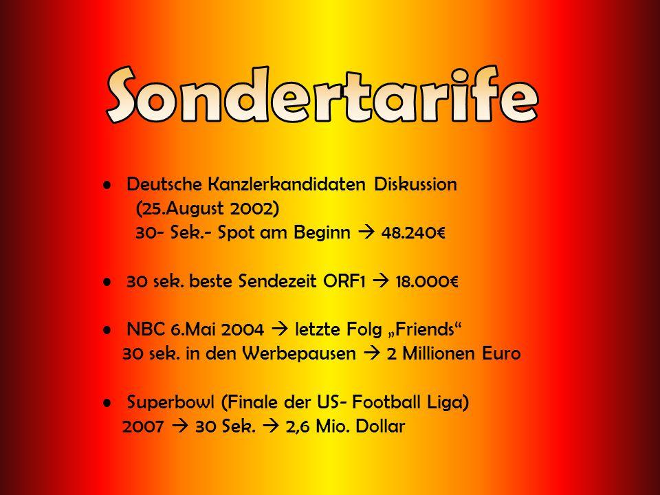 Sondertarife Deutsche Kanzlerkandidaten Diskussion