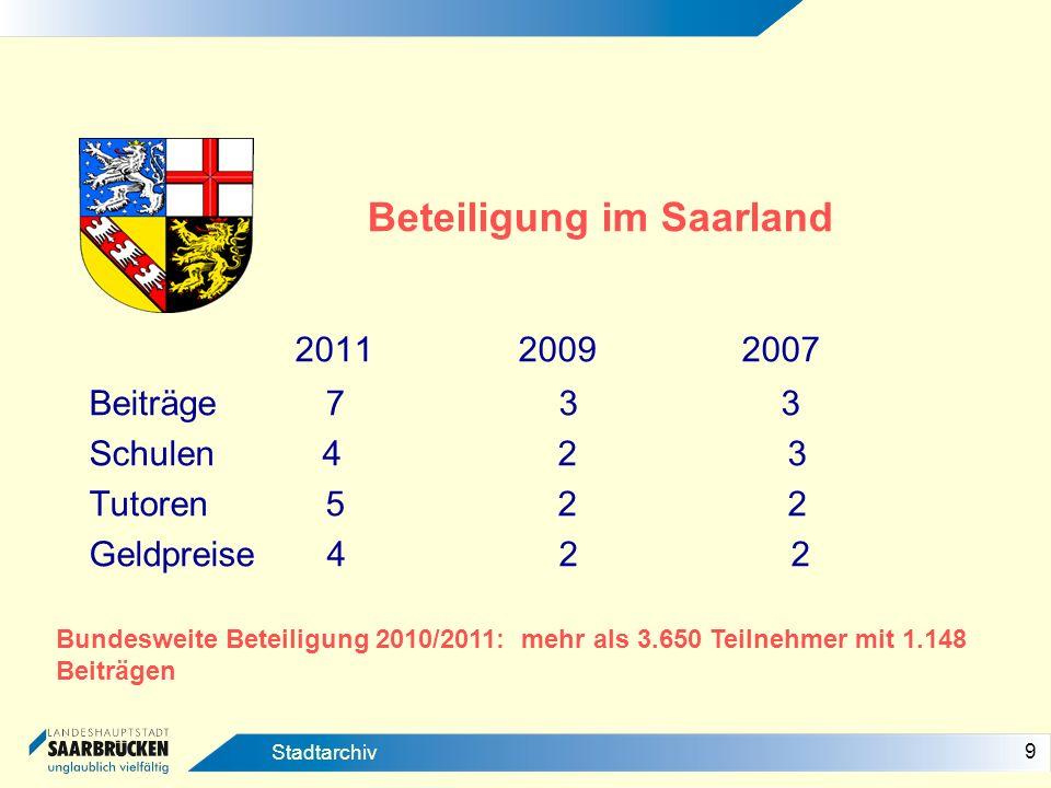 Beteiligung im Saarland