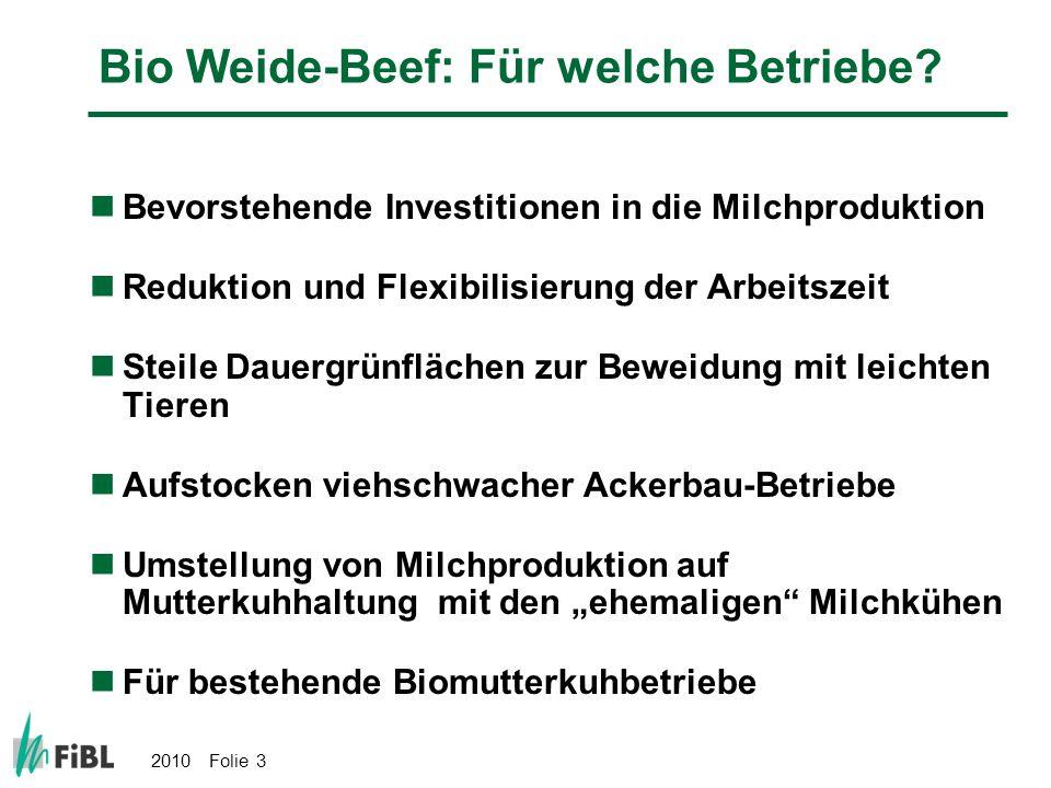 Bio Weide-Beef: Für welche Betriebe