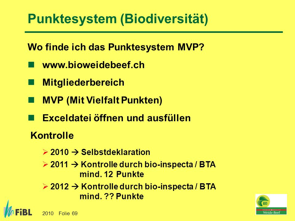 Punktesystem (Biodiversität)