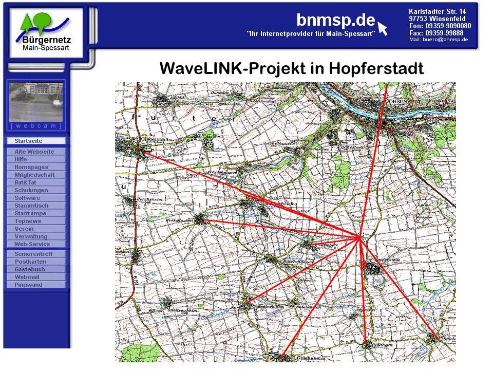 WaveLINK-Projekt in Hopferstadt