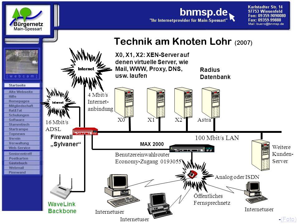 Technik am Knoten Lohr (2007)