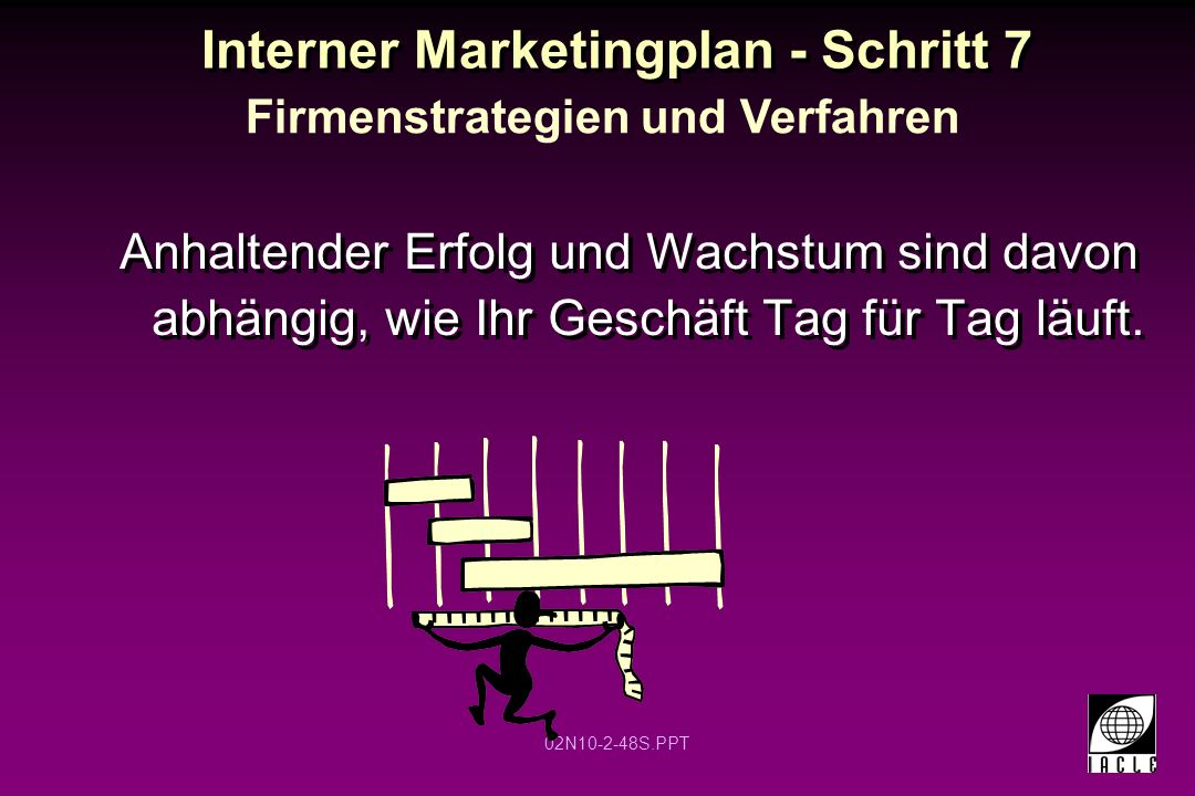 Interner Marketingplan - Schritt 7