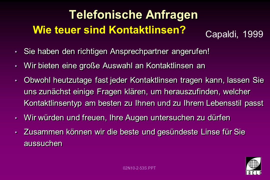 Telefonische Anfragen