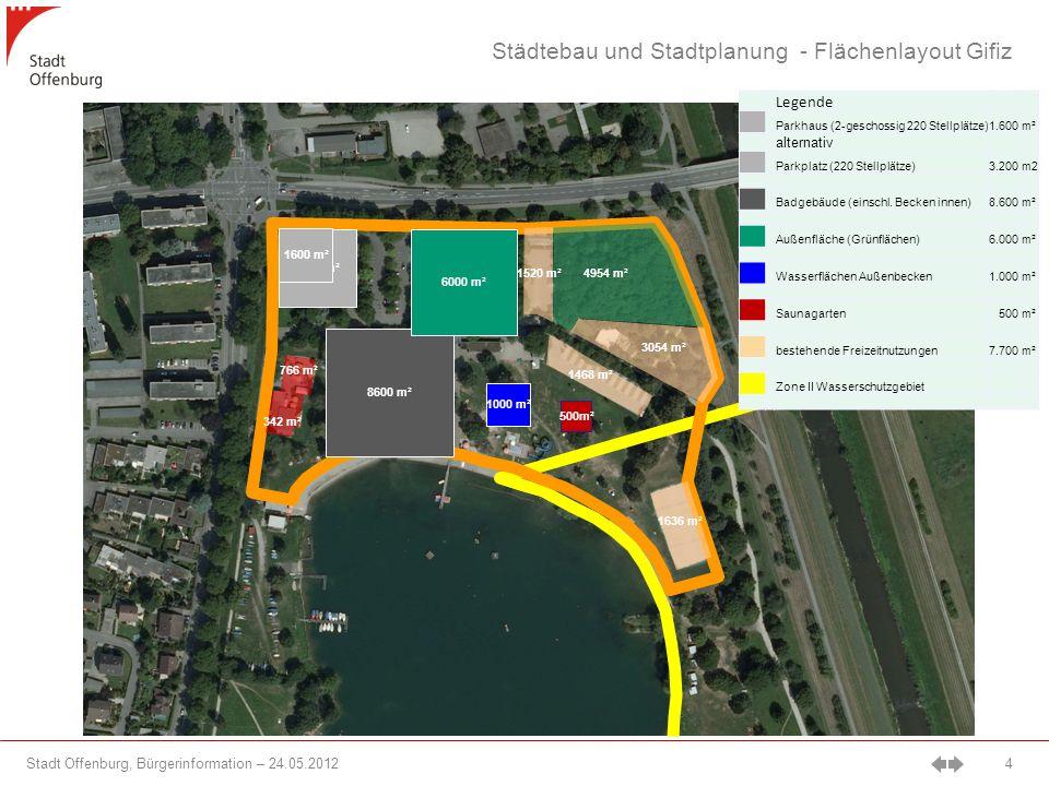 Städtebau und Stadtplanung - Flächenlayout Gifiz