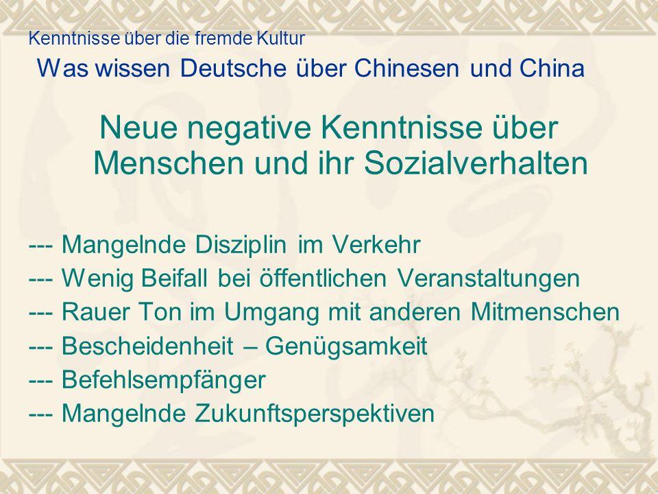 Neue negative Kenntnisse über Menschen und ihr Sozialverhalten