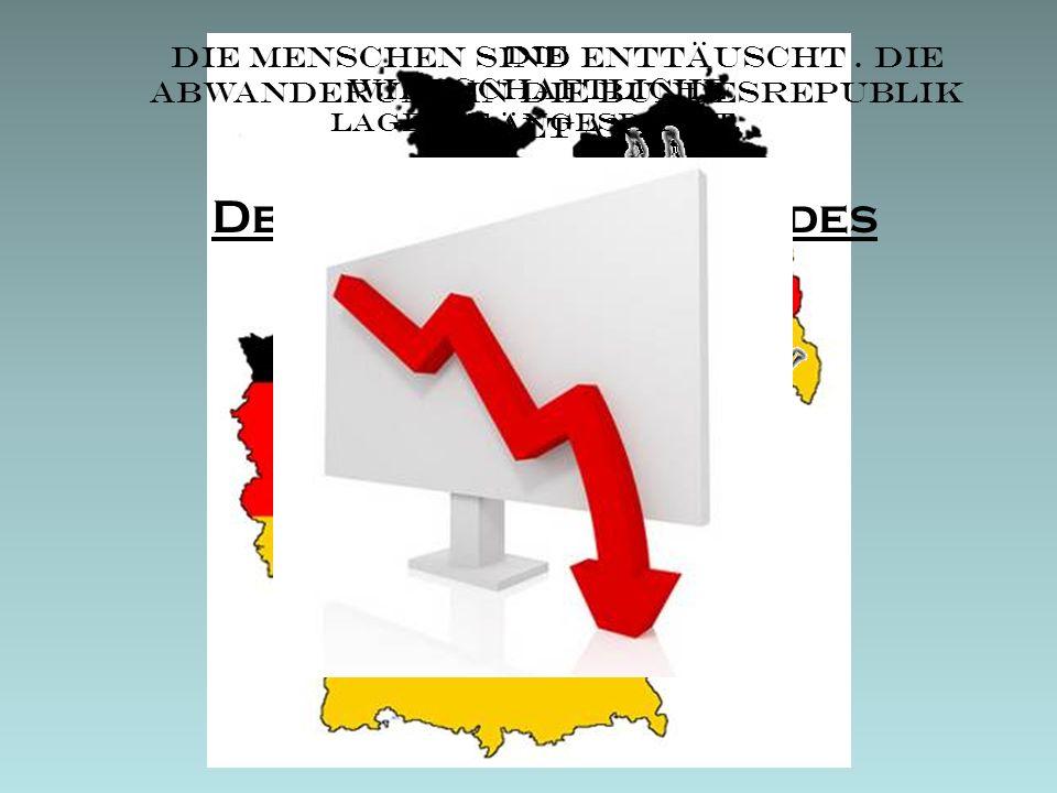 Deutschland Anfang des Jahres 1990: