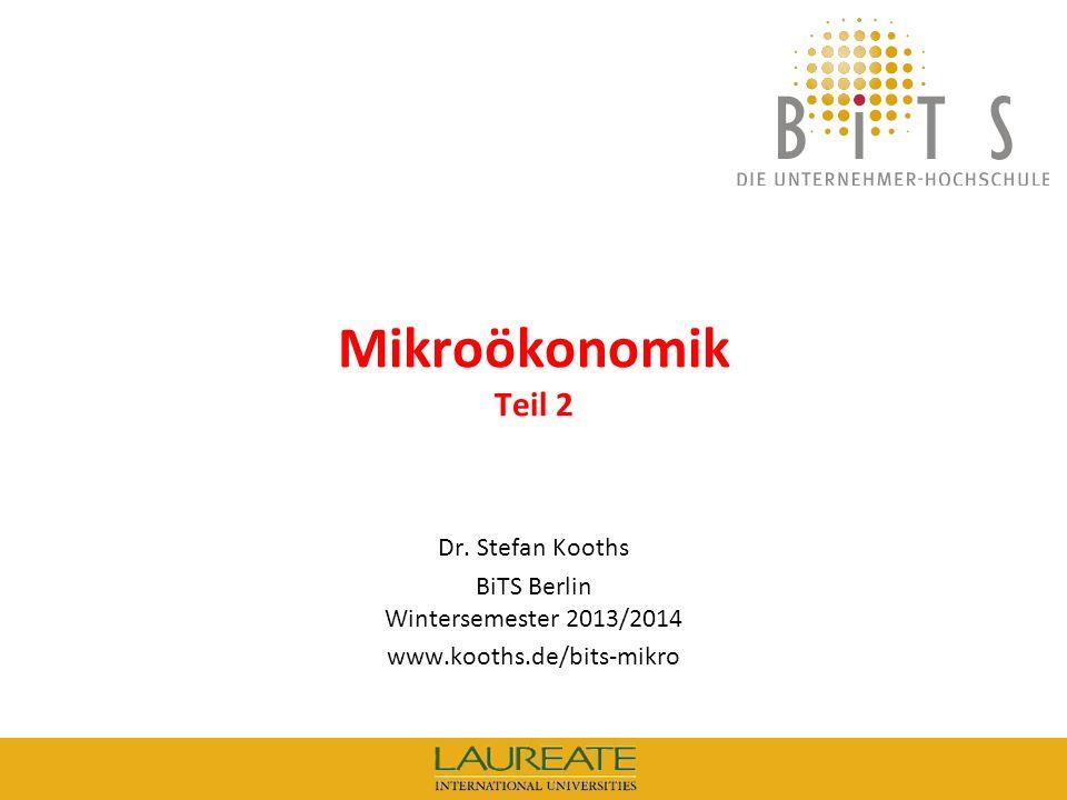 BiTS Berlin Wintersemester 2013/2014