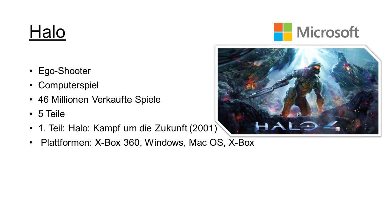 Halo Ego-Shooter Computerspiel 46 Millionen Verkaufte Spiele 5 Teile