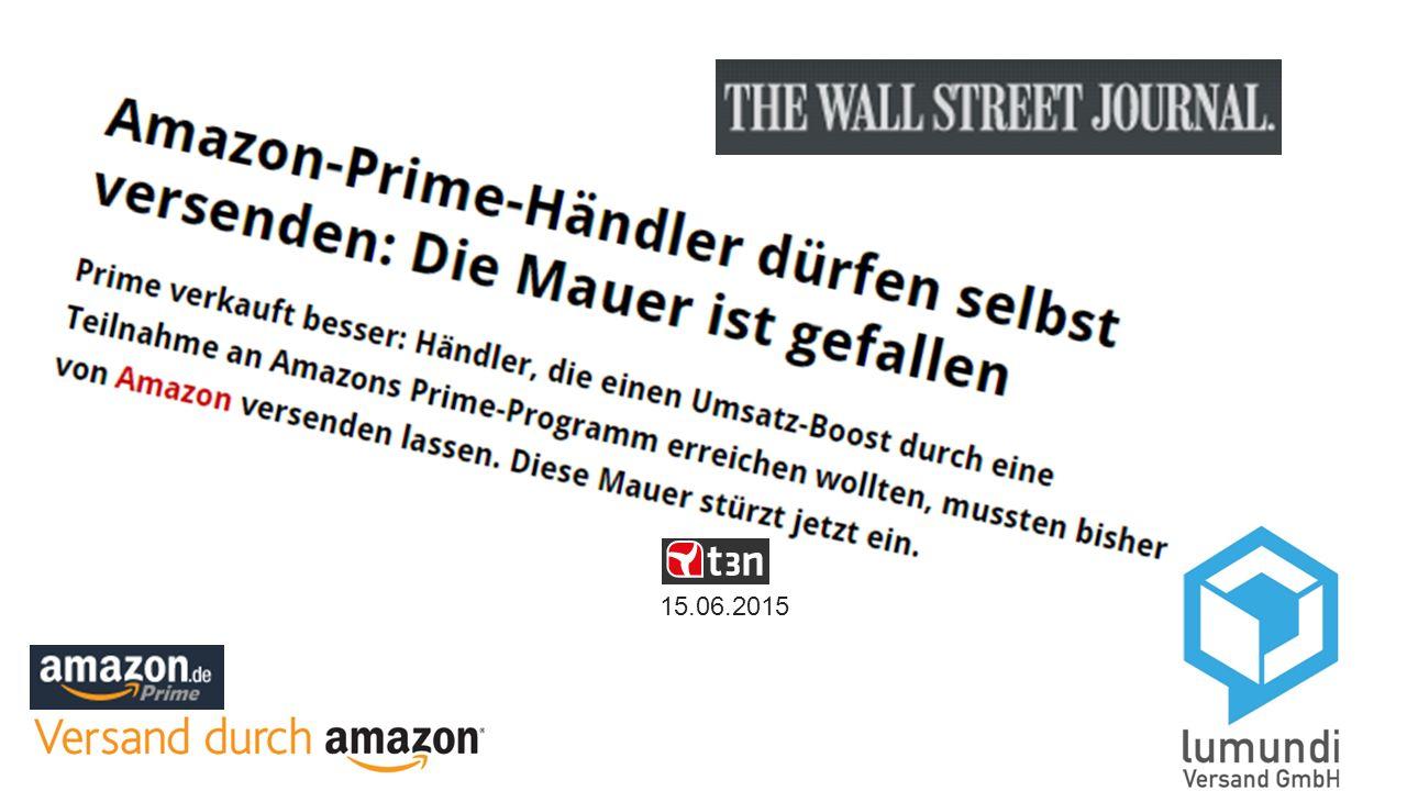 15.06.2015 Nachteile für Händler sinken, Vorteile für Amazon steigen