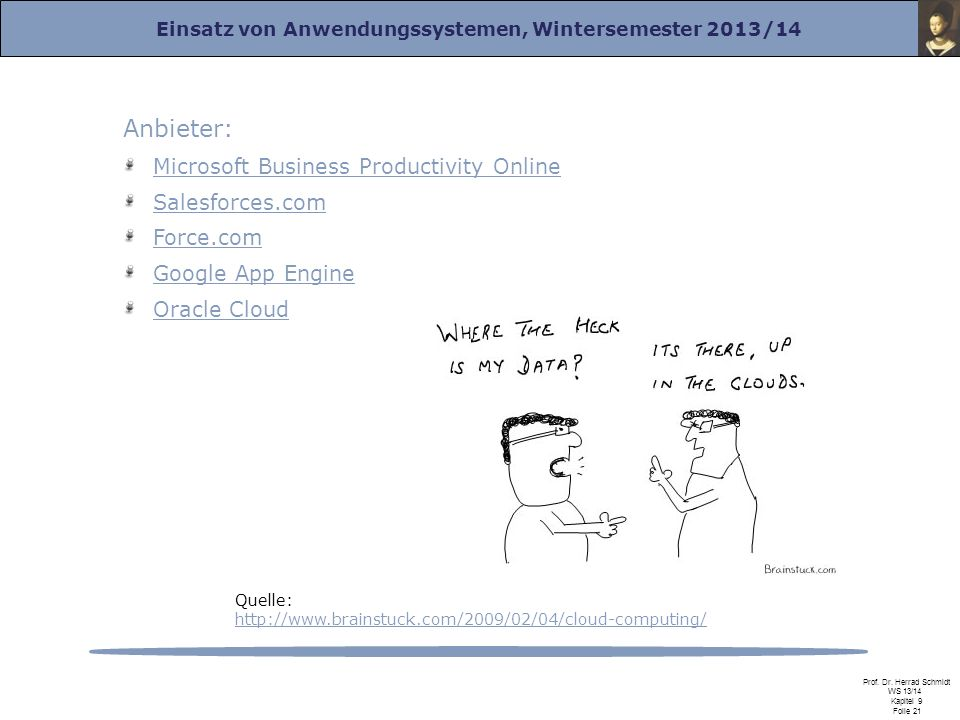 Anbieter: Microsoft Business Productivity Online Salesforces.com