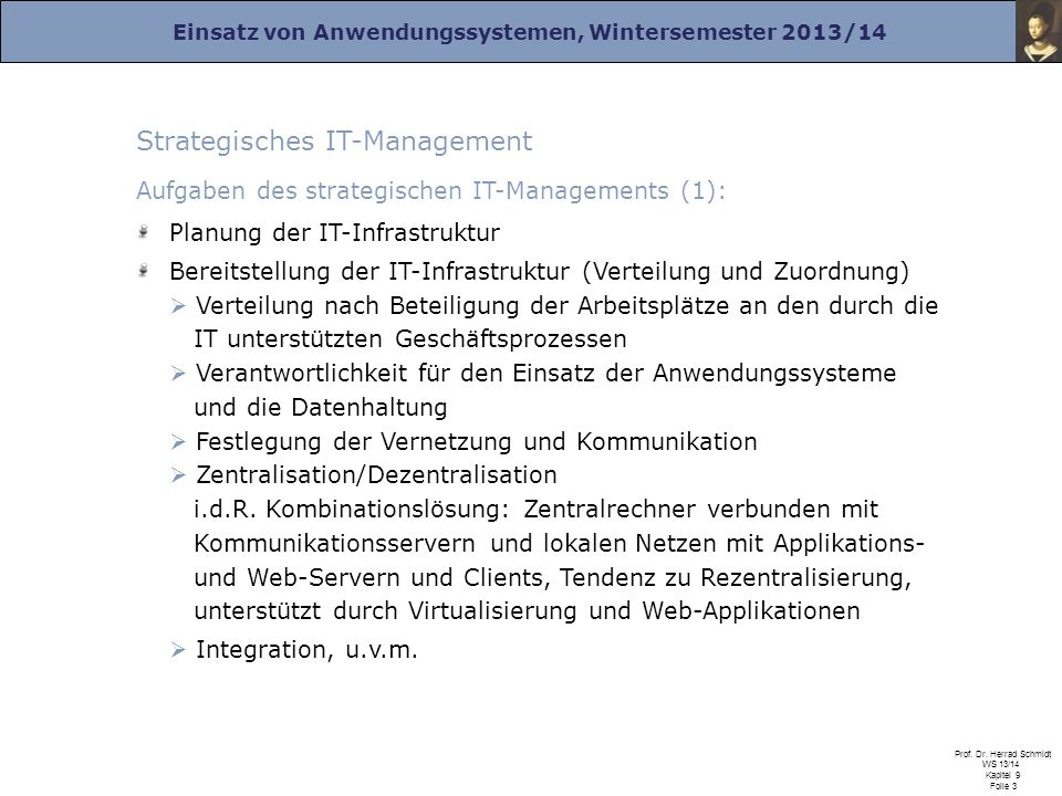 Strategisches IT-Management