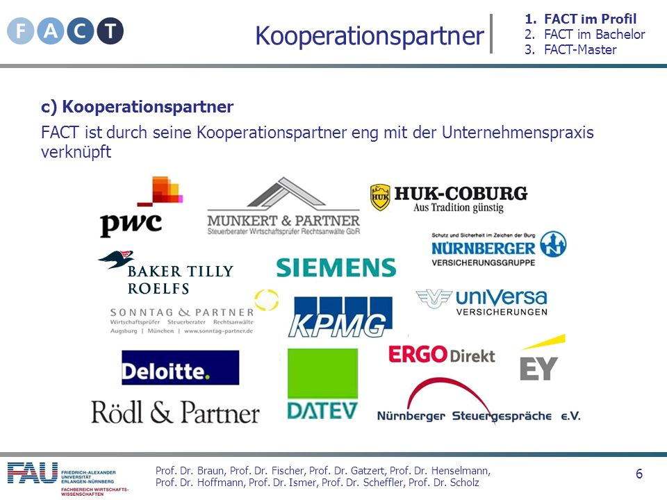 Kooperationspartner c) Kooperationspartner