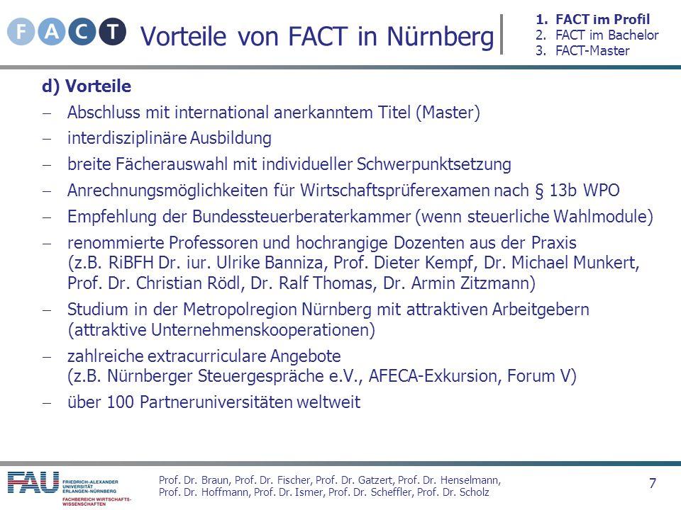 Vorteile von FACT in Nürnberg