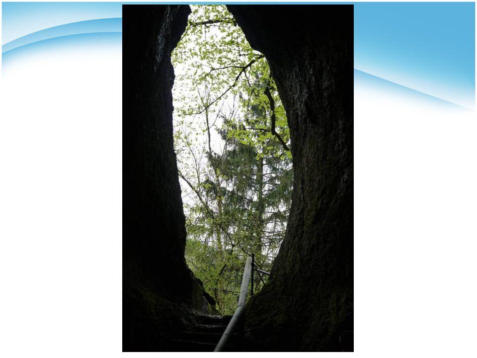 Bild 3 Felsenweg – Licht am Ende des Tunnels sehen, aus dem Tief heraus kommen