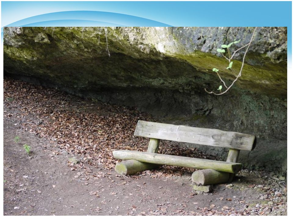 Bild 4 Felsenbank – Ruhe und Schutz finden, trotz drückender Lasten