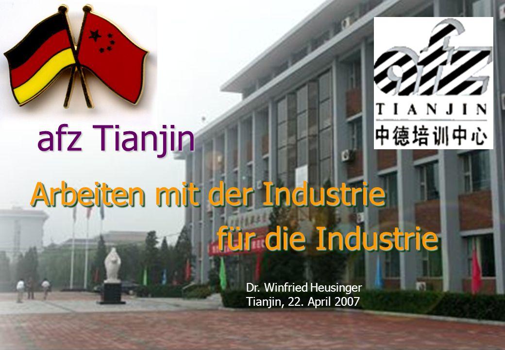 afz Tianjin Arbeiten mit der Industrie für die Industrie