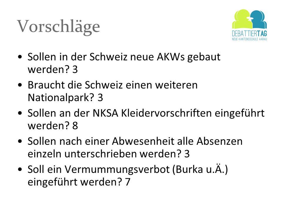 Vorschläge Sollen in der Schweiz neue AKWs gebaut werden 3