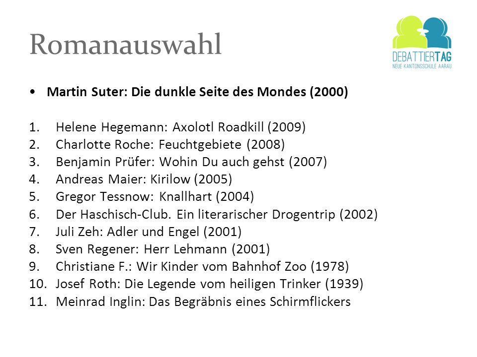 Romanauswahl Martin Suter: Die dunkle Seite des Mondes (2000)