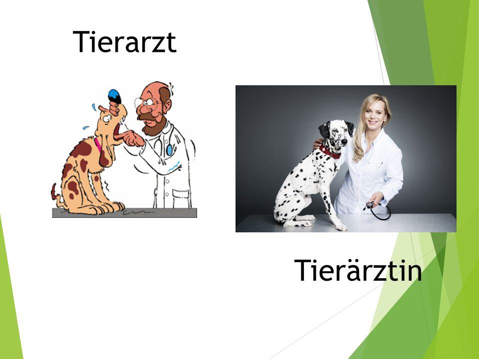Tierarzt Tierärztin