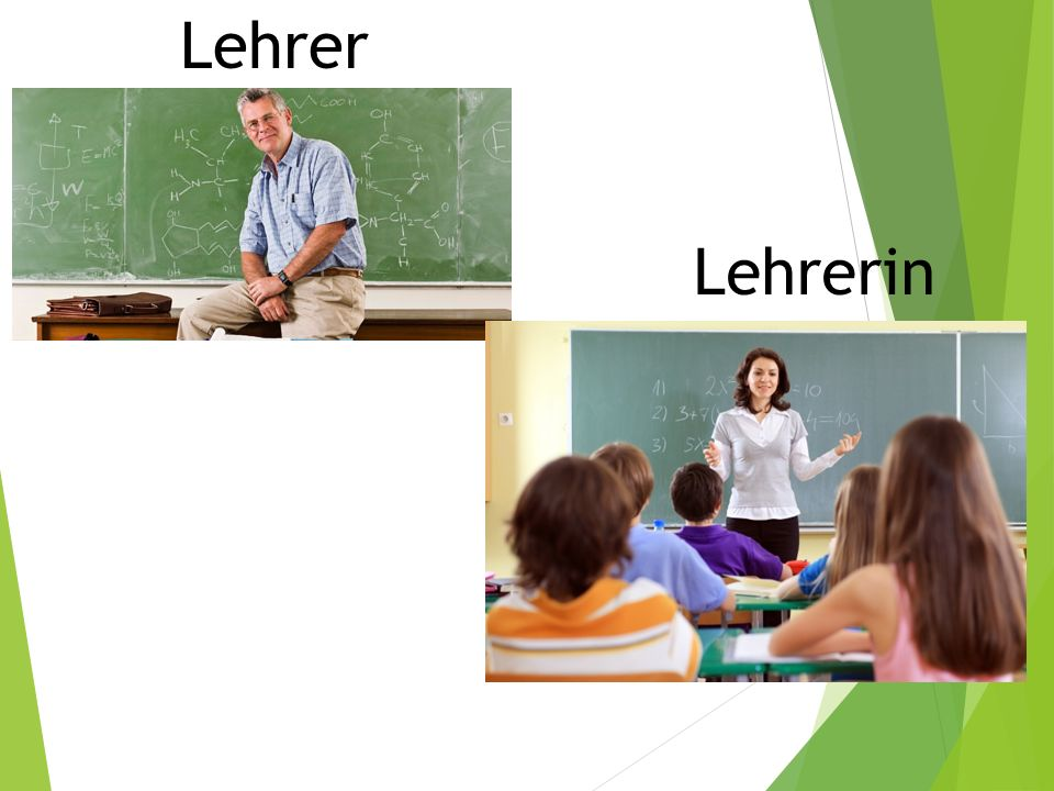 Lehrer Lehrerin