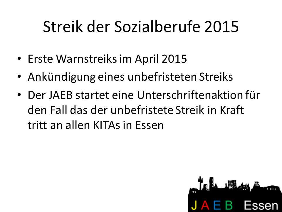 Streik der Sozialberufe 2015