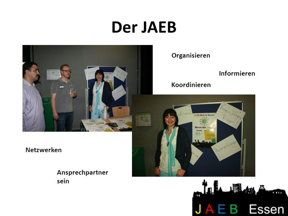 Der JAEB Organisieren Informieren Koordinieren Netzwerken