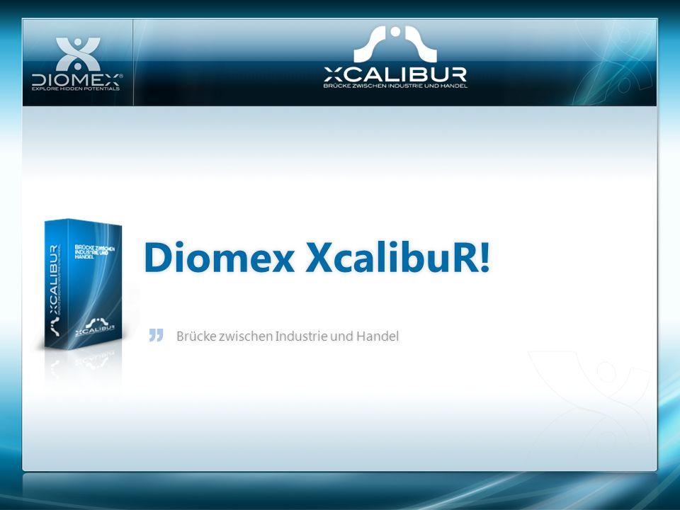 Diomex XcalibuR! Brücke zwischen Industrie und Handel