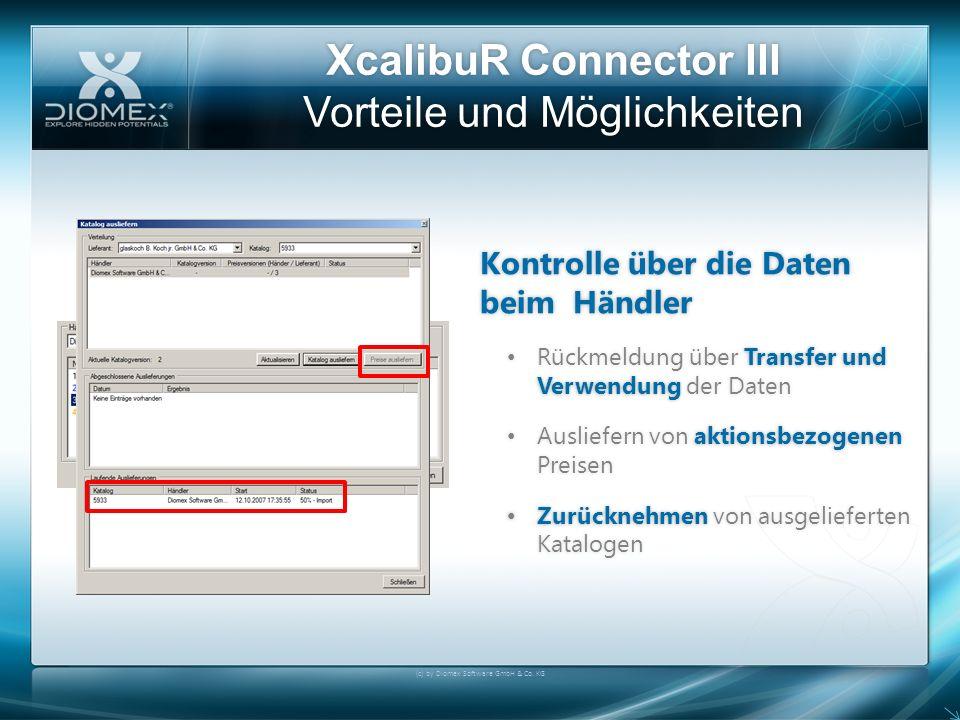 XcalibuR Connector III Vorteile und Möglichkeiten