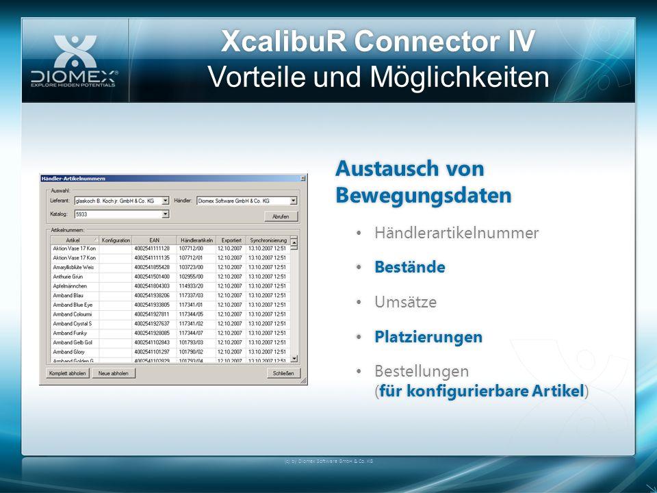 XcalibuR Connector IV Vorteile und Möglichkeiten