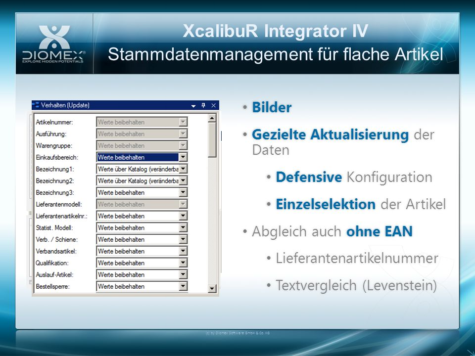 XcalibuR Integrator IV
