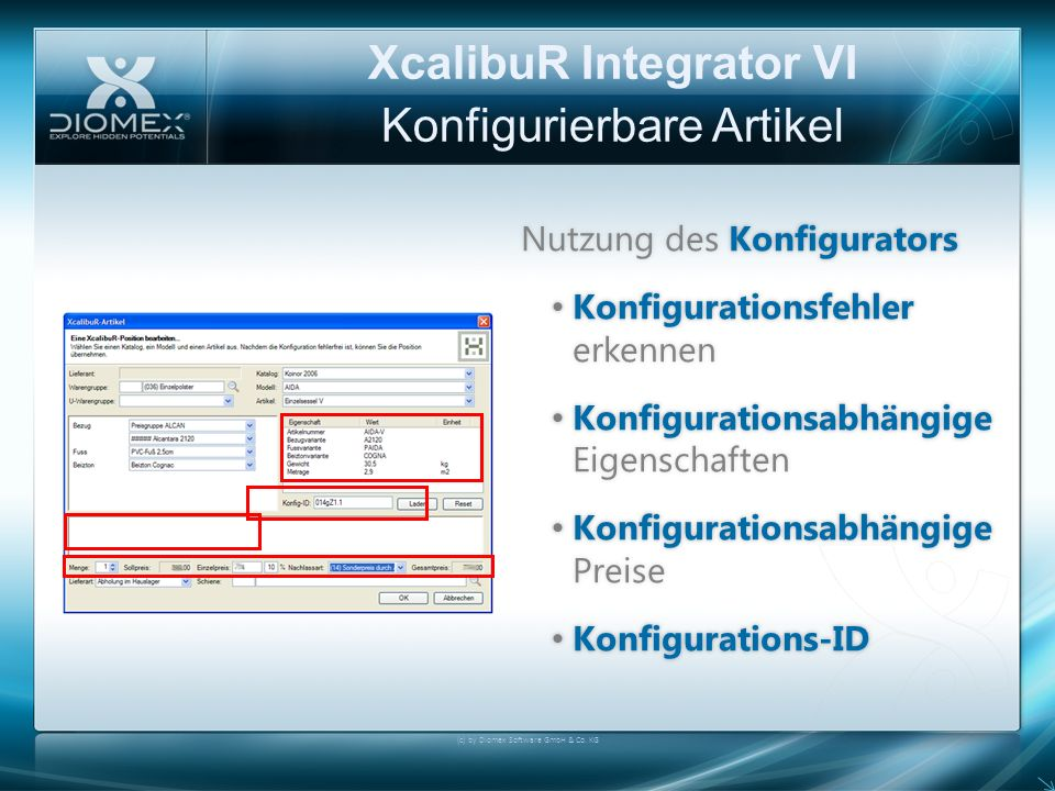 XcalibuR Integrator VI