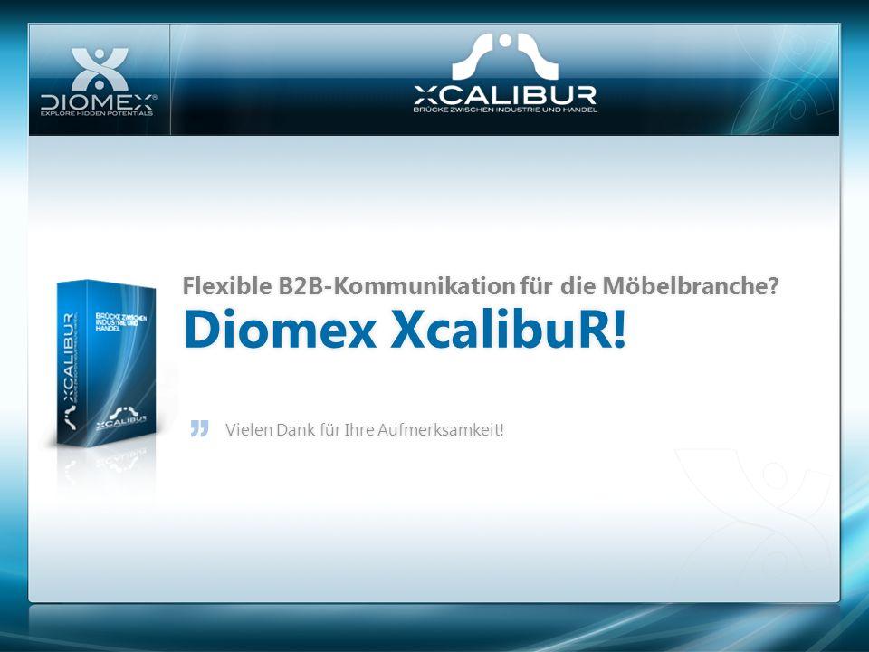 Diomex XcalibuR! Flexible B2B-Kommunikation für die Möbelbranche