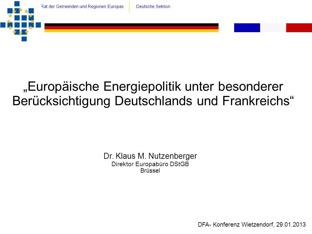 Rat der Gemeinden und Regionen Europas Deutsche Sektion