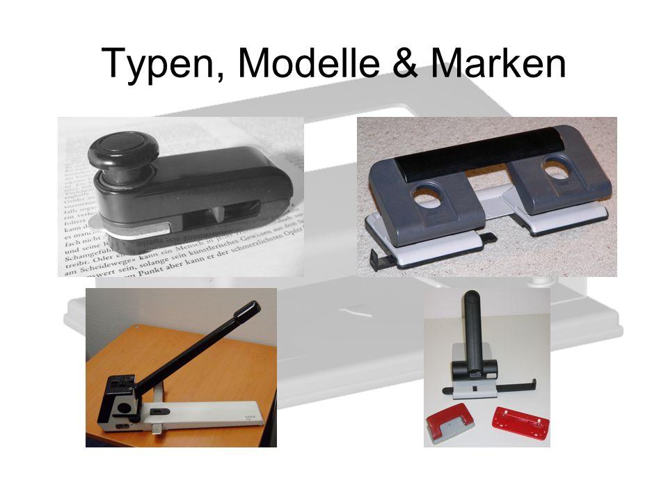 Typen, Modelle & Marken