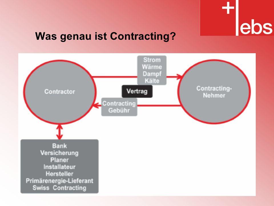 Was genau ist Contracting