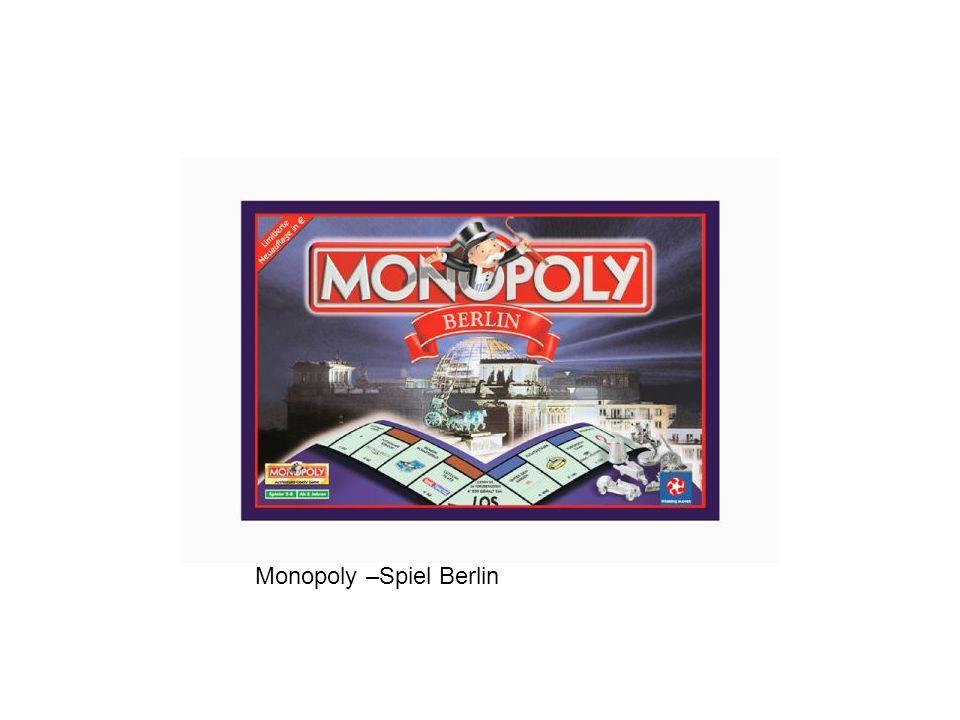 Monopoly –Spiel Berlin
