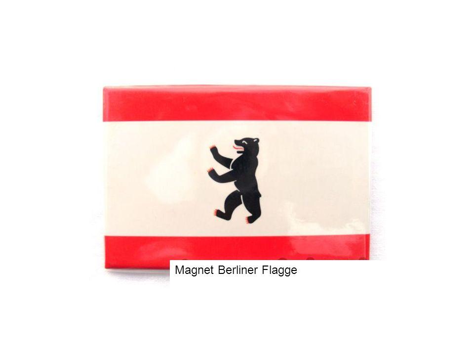 Magnet Berliner Flagge