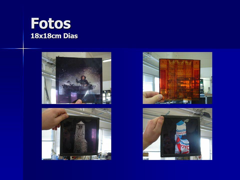 Fotos 18x18cm Dias