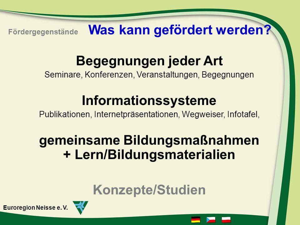 gemeinsame Bildungsmaßnahmen + Lern/Bildungsmaterialien
