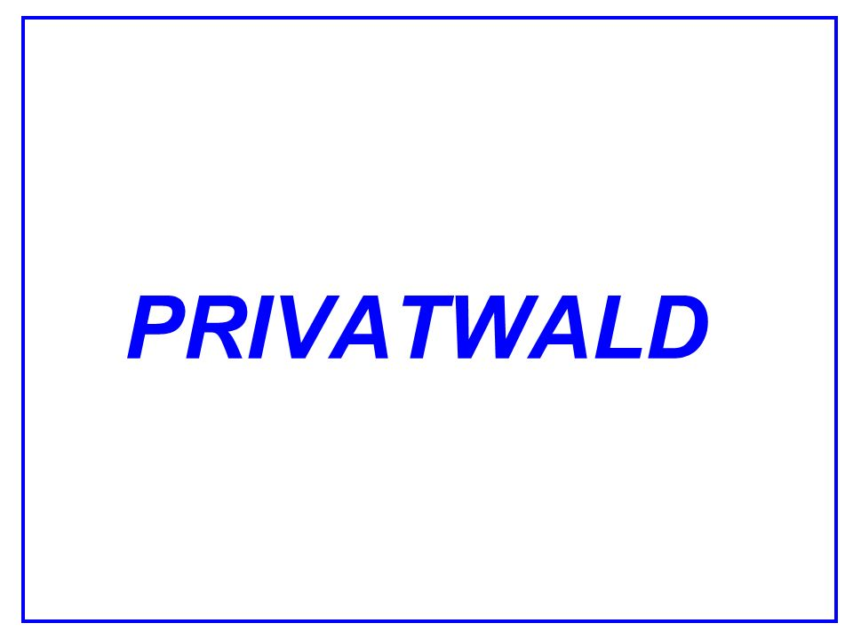 PRIVATWALD